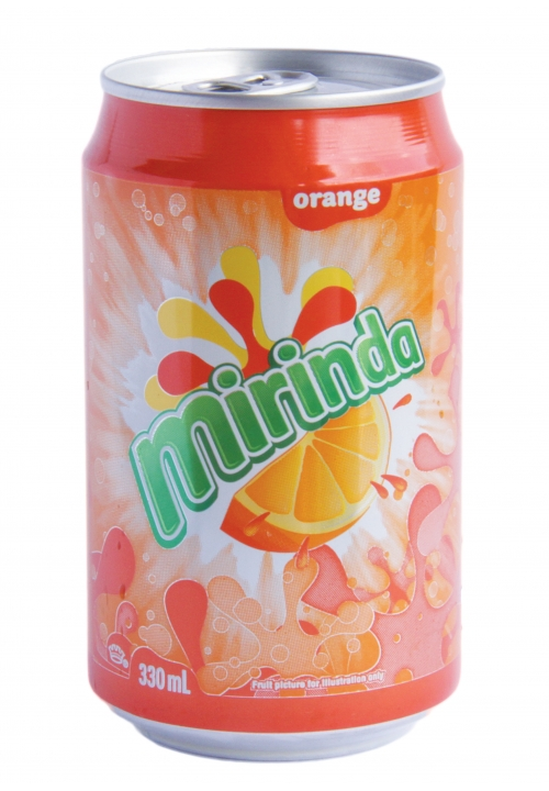 Yeo's Mirinda Orange Drink
