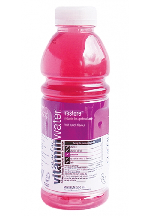 Glaceau Vitamin Water Restore Fruit Punch