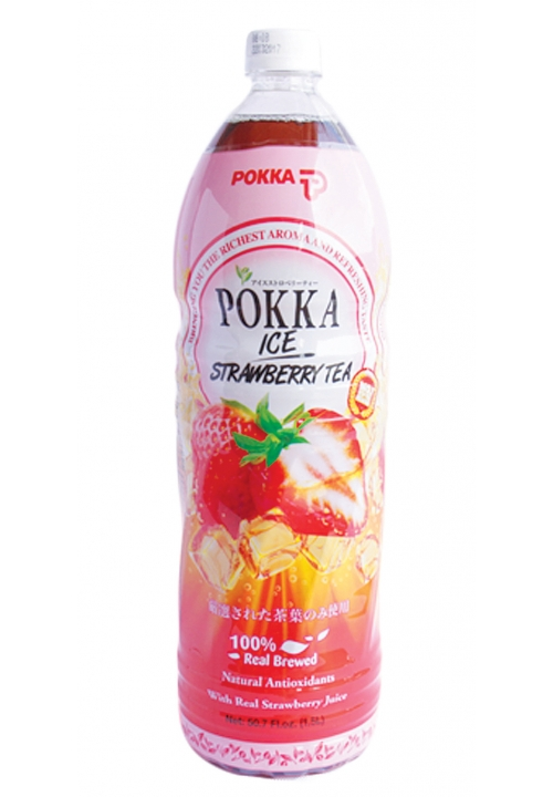 Pokka Ice Strawberry Tea