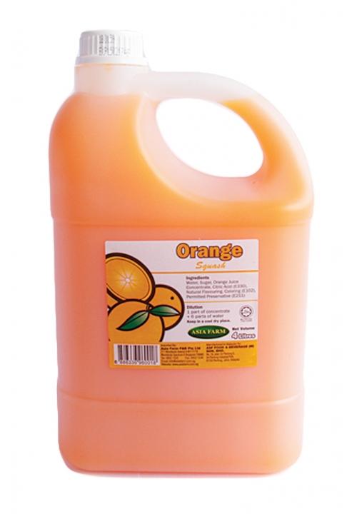 Asian Farm Orange Squash