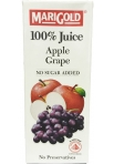 Marigold 100% Juice Apple Grape Packet