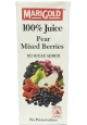 Marigold 100% Juice Pear Mixed Berries Packet