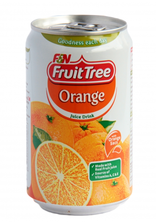 F&N Fruit Tree Orange Juice Drink