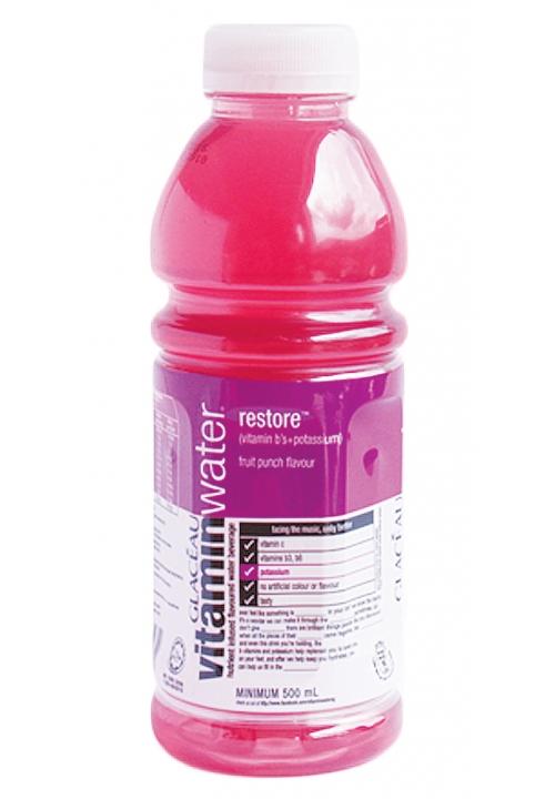 Glaceau Vitamin Water Restore Fruit Punch