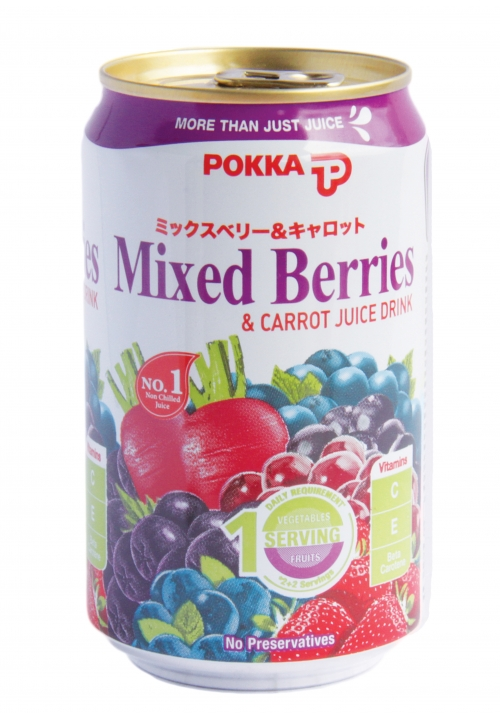 Pokka Mixed Berries and Carrot Juice Drink
