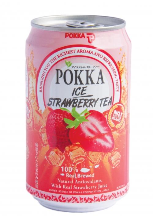 Pokka Ice Strawberry Tea