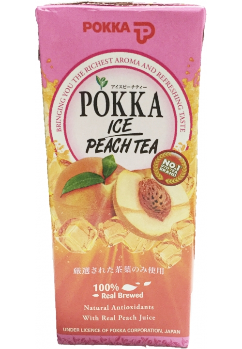 Pokka Peach Tea Packet