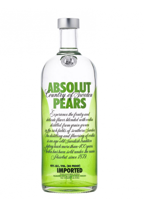 Absolut Vodka Pears 750ml