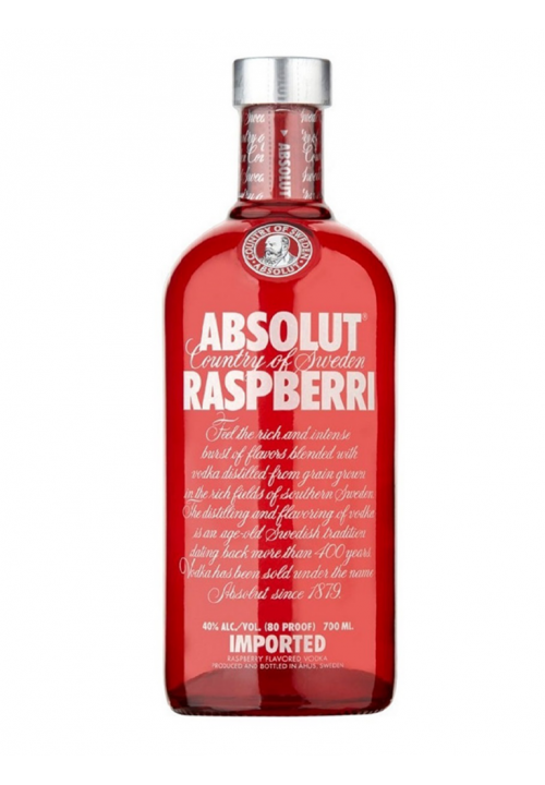 Absolut Vodka Raspberri 700ml