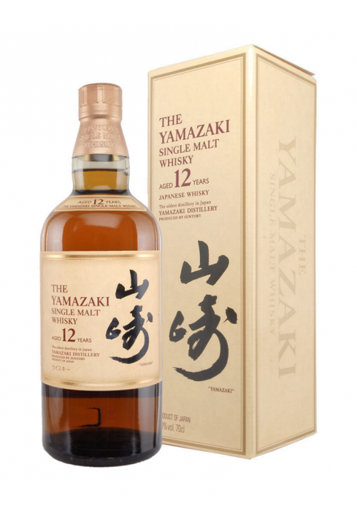 Yamazaki 12 Year Old Single Malt 700ml