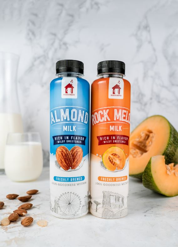 Almond and Rock Melon